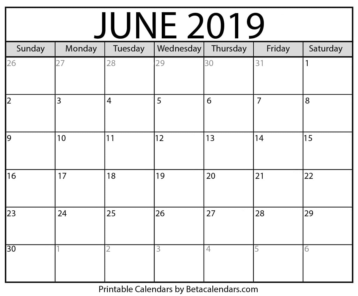 Printable Calendars - cover