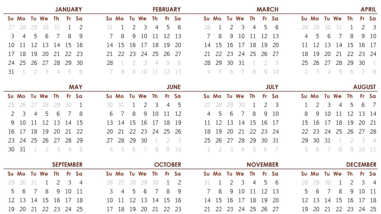 2021-Calendar