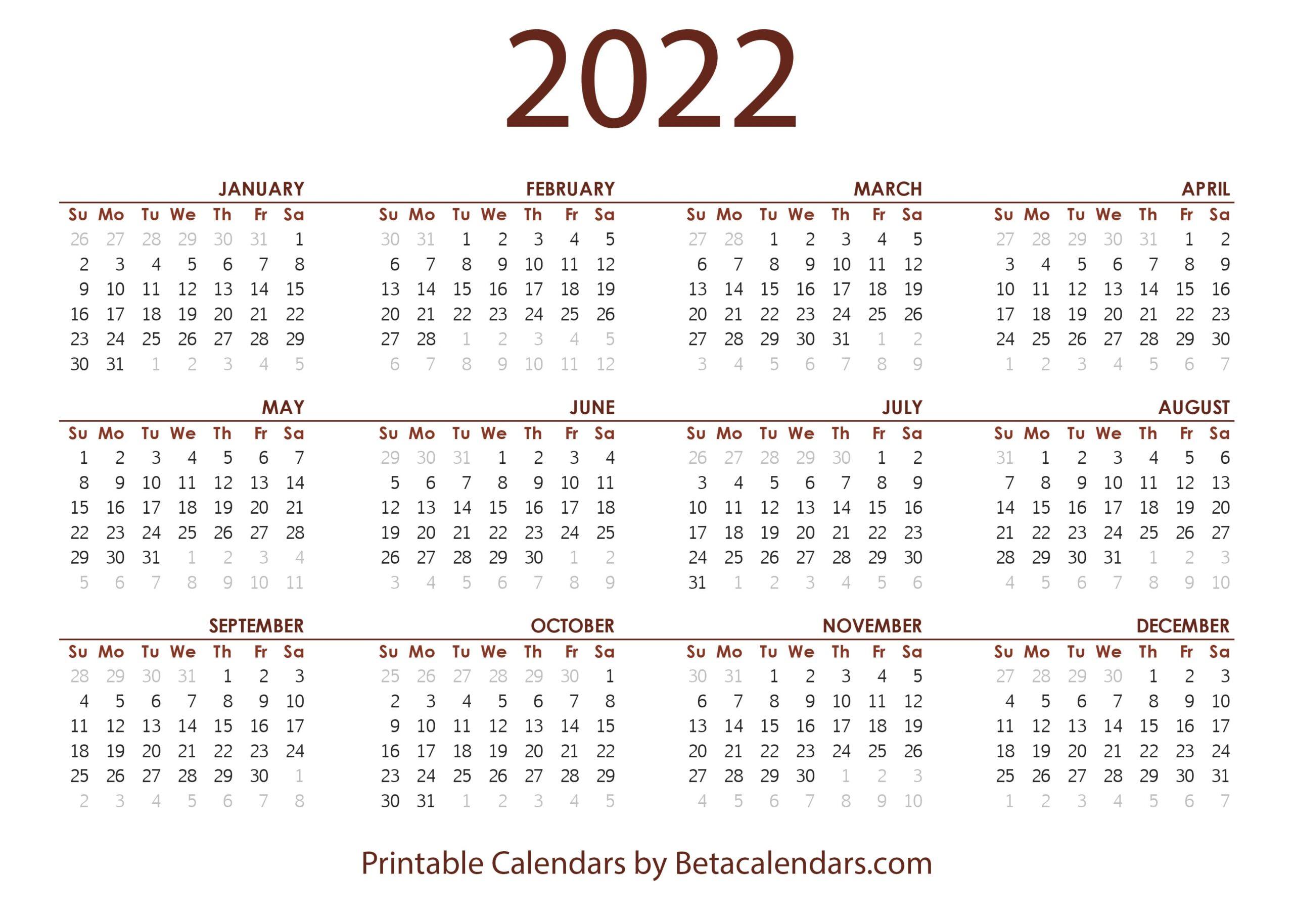 2022 2023 Calendar.2022 Calendar Beta Calendars